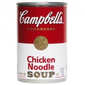 how to make chicken noodle soup from a can