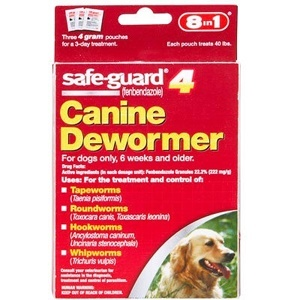 Can I give my dog dewormer?